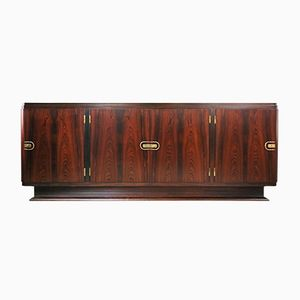 French Art Deco Rosewood Sideboard, 1940s