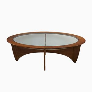 Astro Oval Coffee Table from G-Plan, 1960s