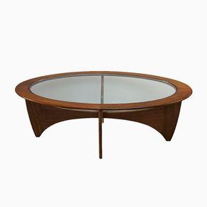 Table Basse Astro Ovale de G-Plan, 1960s