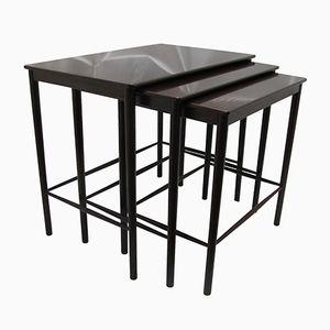 PH 80/78 Nesting Tables by Kaj Winding for Poul Jeppesen, Set of 3