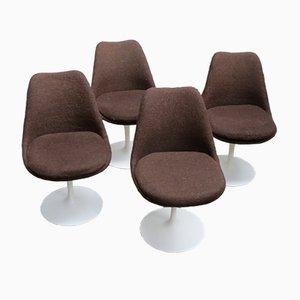 Swivel Tulip Chairs by Eero Saarinen for Knoll International, 1970s, Set of 4