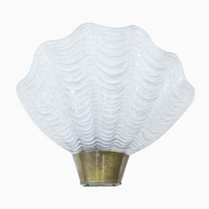 Coquille Wandlampe von ASEA, 1940er