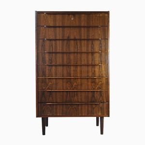 Vintage Danish Rosewood Chest Of Drawers from Steens Møbelfabrik
