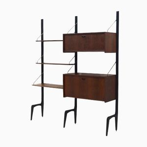Mid-Century Teak Unit by Louis Van Teeffelen for Webe, 1950s