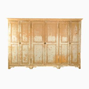 Large Antique Italian Linen Cupboard