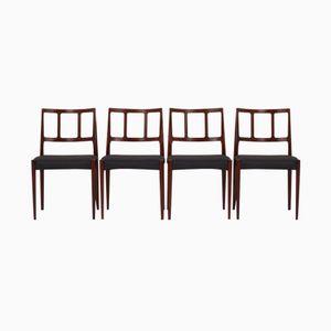 Dänische Esszimmerstühle von Johannes Andersen für Uldum Møbelfabrik, 1960er, 4er Set