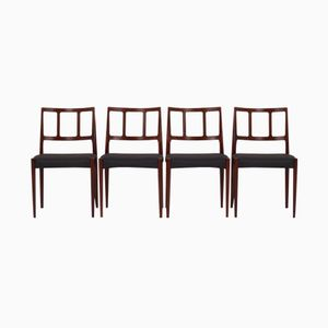 Danish Dining Chairs by Johannes Andersen for Uldum Møbelfabrik, 1960s, Set of 4
