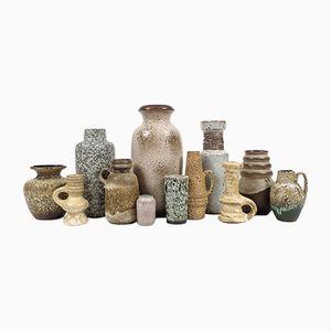 Vintage Selection of Dutch, German & Scandinavian Ceramics, Set of 12