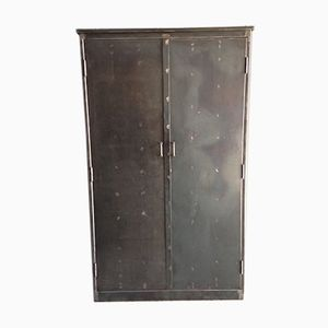 Vintage Industrial Armoire from Morgan