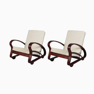 Mid-Century Armchairs, 1950s, Set of 2