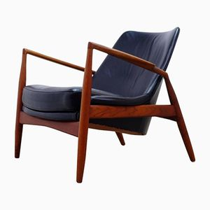Swedish Seal Easy Chair by Ib Kofod-Larsen for OPE, 1960s