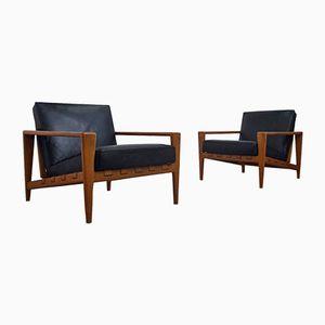 Scandinavian Easy Chairs by Svante Skogh for Seffle Möbelfabrik, Set of 2