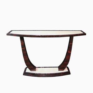 Art Deco Console Table, 1930