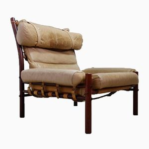 Scandinavian Inca Easy Chair by Arne Norell for Arne Norell AB