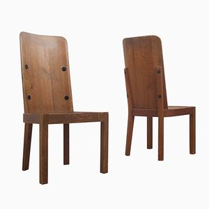 Lovö Chairs by Axel-Einar Hjorth for Nordiska Kompaniet, 1930s, Set of 2