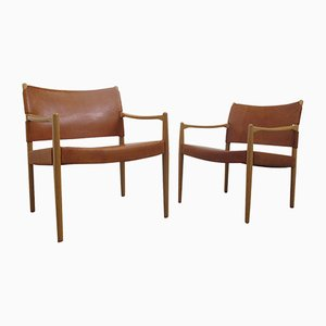 Vintage Swedish Premiär Easy Chairs by Per-Olof Scotte for IKEA, Set of 2