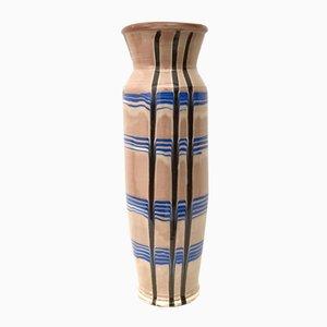 Vintage Glazed Ceramic Vase
