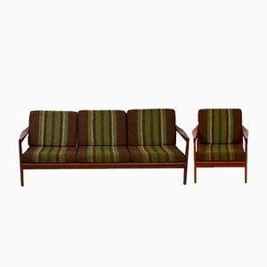 Teak Sofa & Chair by Svante Skogh