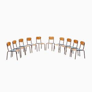 Chaises de Salon Bones par Markus Friedrich Staab, Set de 10