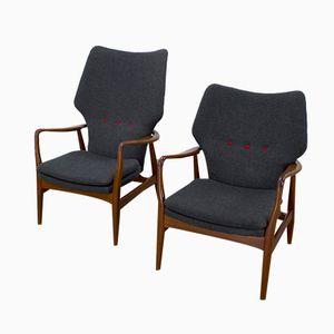 Lounge Stühle von Aksel Bender Matsen für Bovenkamp, 2er Set