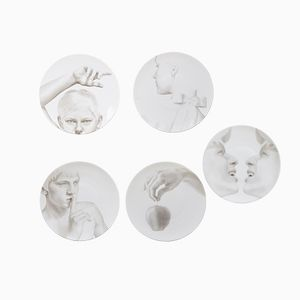 Collection Blanche par Jules Julien pour TH MANUFACTUER, Set de 5