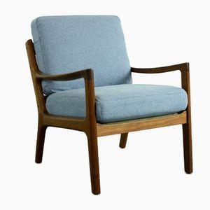 Teakholz Lounge Stuhl von Ole Wanscher für Cado, 1960er