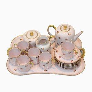 Französisches Vintage Kaffee Service von Jean Haviland für Jos. Guillaume de Anvers