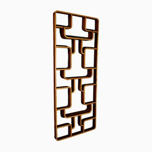 Czech Plywood Room Divider by Jindrich Volak for Holesov, 1960s