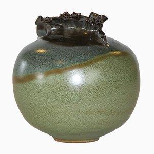 Dänische Vintage Keramikvase, 1960er