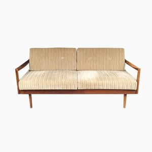 Pull-Out Teak Daybed by Florence Knoll Bassett for Knoll Inc., 1960s