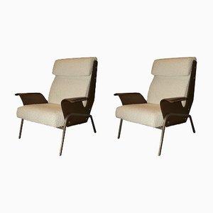 Vintage Alba Lounge Chairs by Gustavo Pulitzer for Artflex, Set of 2