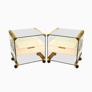 Tables de Chevet Vintage par Piero Gallotti pour Gallotti e Radice, Set de 2