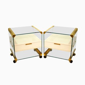 Vintage Nightstands by Piero Gallotti for Gallotti e Radice, Set of 2