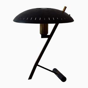 Vintage Schreibtischlampe in Z-Form von Louis Kalff für Philips