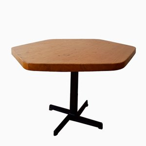 Pentagonal Table by Charlotte Perriand for Les Arcs, 1960s