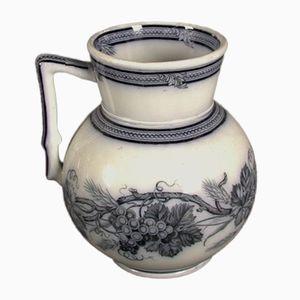 Antiker Keramik Krug von Villeroy & Boch, 1880