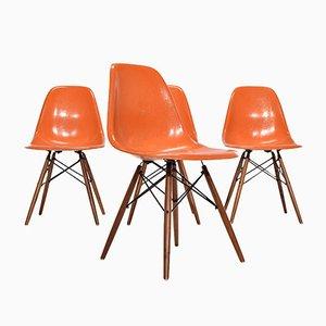 DSW Stühle von Charles & Ray Eames für Herman Miller, 1960, 4er Set