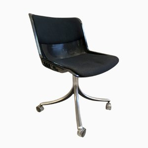 Modus Office Chair by Osvaldo Borsani for Tecno, 1975