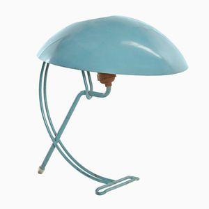 Türkise Tischlampe von Louis Kalff für Philips, 1950er
