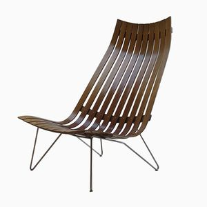 Skandia Lounge Chair by Hans Brattrud for Hove Mobler, 1960s
