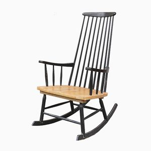 Black Rocking Chair, 1960s