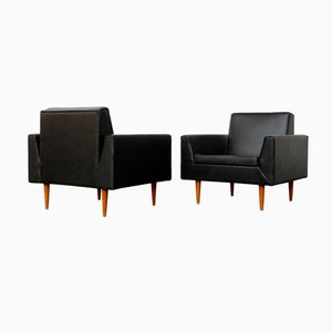 Model 410 Club Chairs by Theo Ruth for Artifort, 1950s, Set of 2