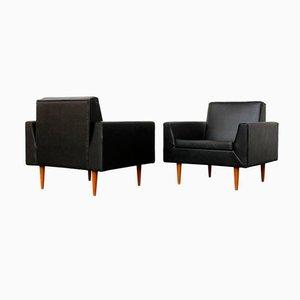 Modell 410 Sessel von Theo Ruth für Artifort, 1950er, 2er Set