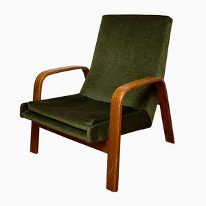 Grüner Vintage Polsterstuhl von ARP Group für Steiner