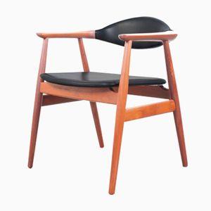 Mid-Century Danish Desk Chair by Svend Åge Eriksen for Glostrup, 1962