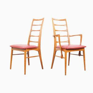 Mid-Century Danish Chairs by Niels Koefoed for Hornslet Mobelfabrik, 1960s, Set of 8
