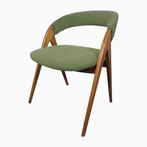 Chaise Verte en Bouleau, 1960s
