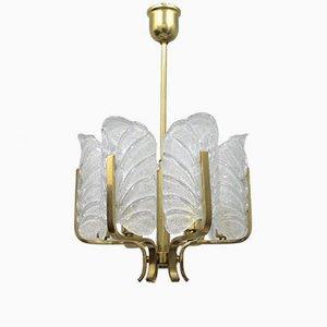 Schwedische Vintage Glaslampe von Orrefors