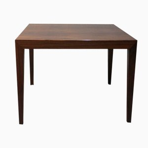 Rosewood Lamp Table by Severin Hansen for Haslev, 1960s