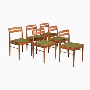 Mid-Century Dining Chairs by H.W. Klein for Bramin Møbler, Set of 6